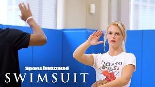 Truth Or Dare HORSE: Jimmy Butler Vs. Erin Heatherton | Sports Illustrated Swimsuit