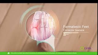 Laboratorios Cinfa Farmalastic en constante movimiento. Corrector de Juanetes anuncio