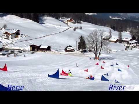 "Rookies "" On Board "" 2012 / 13 Snowboard Alpin-Race"