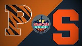2018 Cancun Challenge | Princeton vs Syracuse