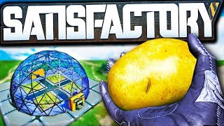 How to Potato with the Satisfactory Farming Mod! - Satisfactory Modded Let's Play Ep 6