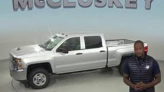 190520 New 2019 Chevrolet Silverado 2500HD Work Truck 4WD Silver Test Drive, Review, For Sale -