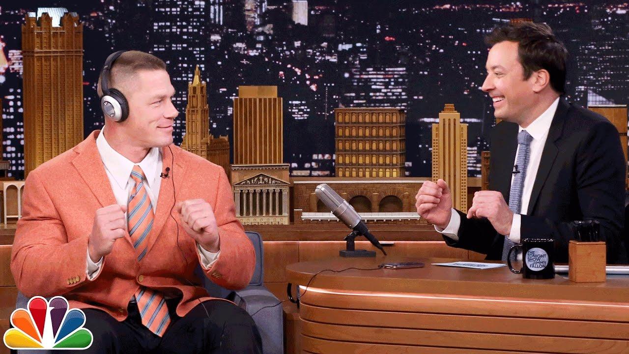 John Cena and Jimmy Totally Nail the Whisper Challenge thumbnail
