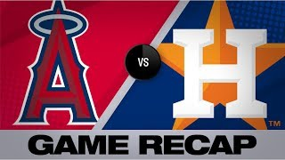 Homers power Astros in 6-4 victory | Angels-Astros Game Highlights 9/20/19