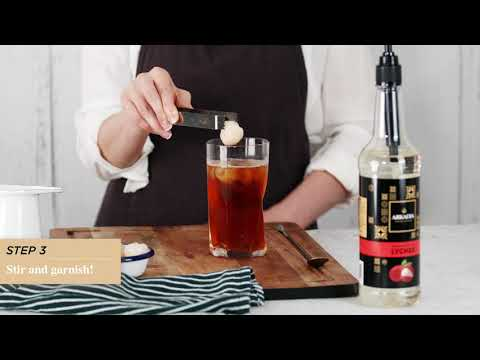 Lychee Iced Tea Recipe