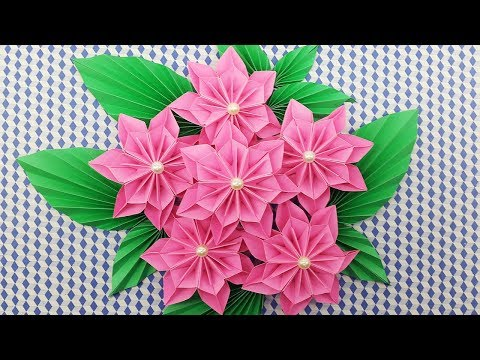 How to make easy beautiful paper flower origami easy paper diy paper flowers bouquet how to make a paper flower easy for beginners mightylinksfo