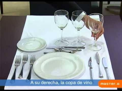 Cómo preparar la Mesa para un Banquete - MasterD