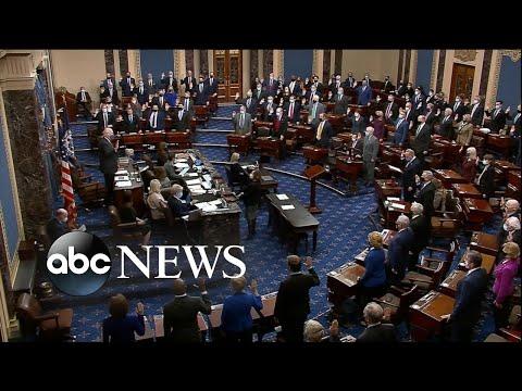 Senators sworn in as jurors in Trump's 2nd impeachment trial   WNT