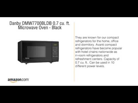 , Danby DMW7700BLDB 0.7 cu. ft. Microwave Oven – Black