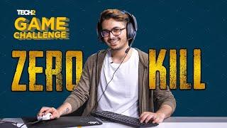 Zero Kill Challenge with HydraFlick | Tech2 Game Challenge | PUBG