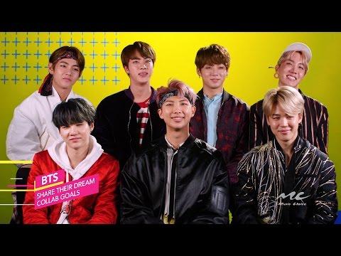 BTS Talk Dream Collab Goals