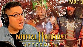 THE GODS VS KRONIKA! Mortal Kombat 11: Aftermath - Story Mode Let's Play Part 3!