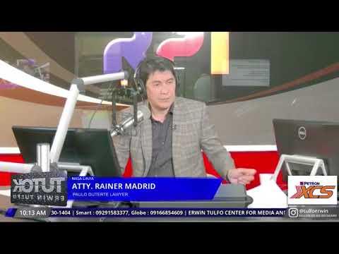 [Erwin Tulfo]  TRILLANES DUWAG AT WALA PALANG ITLOG ANGPOTA!!!