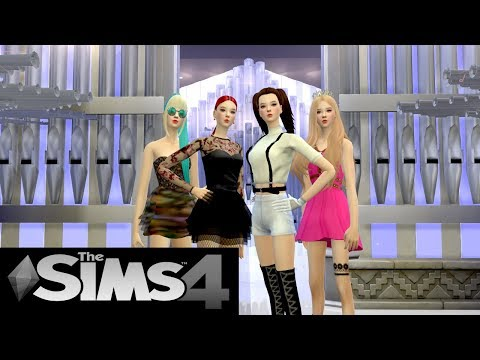 The Sims 4 : BLACKPINK - 'Kill This Love' M/V