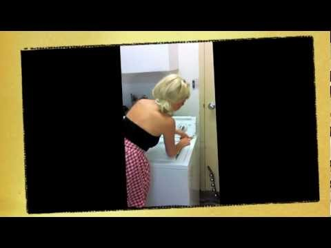 repairman sex Sara with clip washer