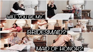 WEDDING SERIES: Asking My Best Friends To Be My BRIDESMAIDS *emotional*