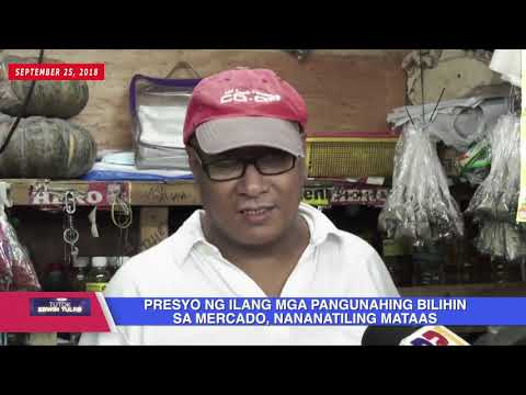 [Erwin Tulfo]  PRESYO NG ILANG MGA PANGUNAHING BILIHIN SA MERCADO, NANANATILING MATAAS