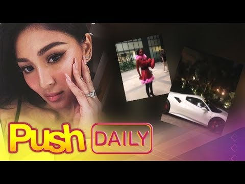 PUSH DAILY: James Reid surprises Nadine Lustre with a ferrari on her birthday