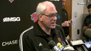 Phil Jackson On Steve Kerr As Knicks Head Coaching Candidate