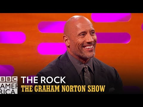 Dwayne 'The Rock' Johnson on Running for President - The Graham Norton Show