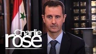Charlie Rose Exclusive With Bashar Al-Assad   Charlie Rose