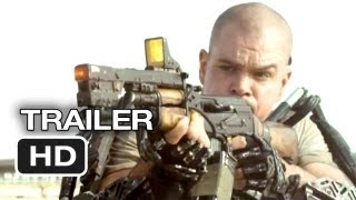 Elysium Official Trailer 1 2013  Matt Damon Jodie Foster SciFi Movie HD