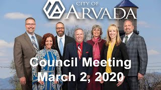 Preview image of City Council Meeting -  March 2, 2020