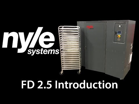 FD 2.5 Food Dehydrator Introduction Video