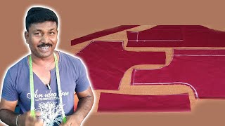 32 inch Simple Blouse Cutting | Tailor Bro