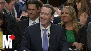 Mark Zuckerberg's Facebook senate hearing: Six awkward moments