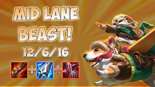 CORKI MID LANE BEAST AUTOS FOR 600! | League Ranked Gameplay!