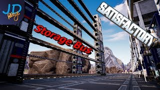 EP1 Design and Introduction | Satisfactory - The Storage Bus 📦🚌