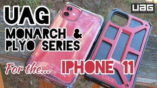 UAG Monarch & Plyo Series Cases for the iPhone 11