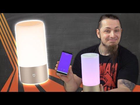 App gesteuerte RGB-Lampe 💡 XIAOMI BEDSIDE LAMP [Review, Technik, German, Deutsch]