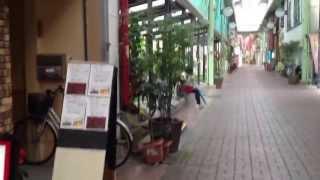 長崎県島原市一番街を歩いてみた。