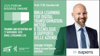 Youtube: Executive Call | TESSERE IL FUTURO: UNA BLENDED LEARNING EXPERIENCE TARGATA MPS