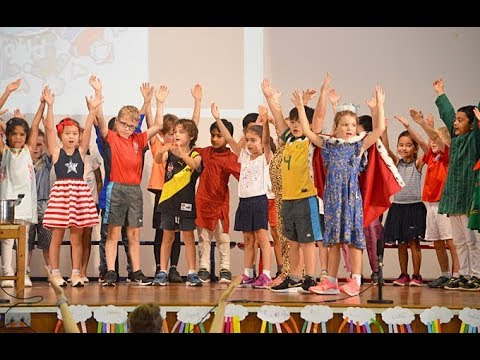 Lower Primary Assembly - Friends Around the World by 2MD and 2SM