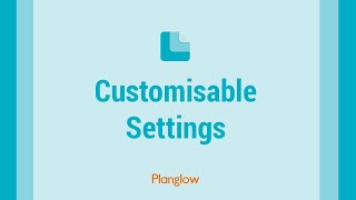 Customisable Settings thumbnail