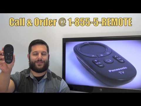 Panasonic N2QBYB000019 TV Remote Control