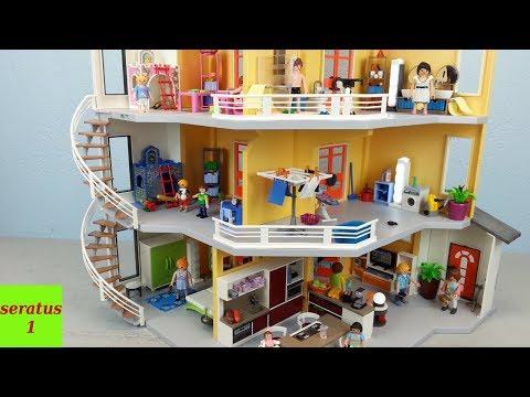 Playmobil Erweiterung für das Moderne Wohnhaus 9266 seratus1
