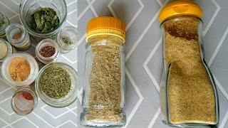 Deux sels aromatisés maison