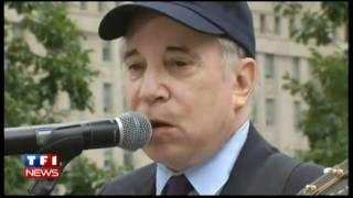 Paul Simon Sound of Silence Ground Zero 9/11 HD