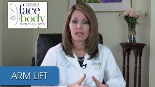 Dr. Ortega | How big is the incision for arm lift surgery?