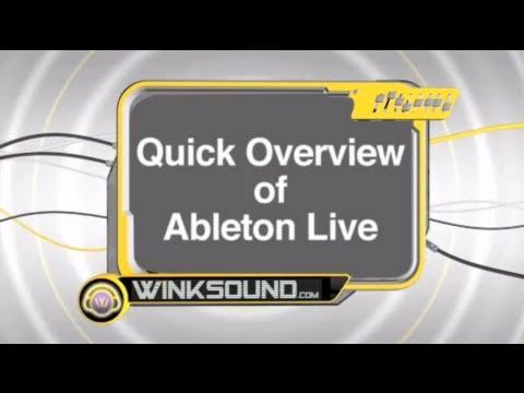 Ableton Live:  Overview | WinkSound
