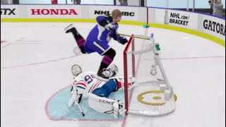 NHL 19 EASHL Highlights | Board Pin Stoppage?