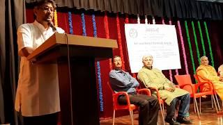 Sahabalve Founder Dr. Raghavendra Prasad Speech on Sahabalve's 4th Annual Day