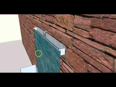 DIY Wasserwand Wandbrunnen Zimmerbrunnen selber bauen - Bauanleitung