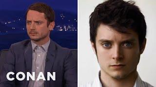 Elijah Wood Is Ready To Fight Daniel Radcliffe  - CONAN on TBS - dooclip.me