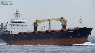 VLADMIR M バラ積み船 Bulk Carrier 関門海峡 2016-FEB