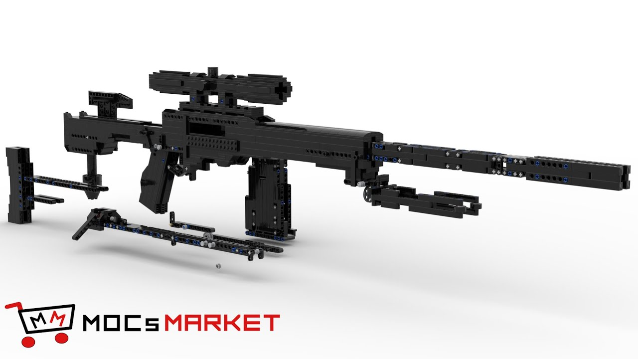 Working LEGO Sniper Rifle [Instructions for sale] - Kevin183